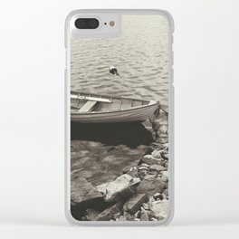 Row, row, row your boat Clear iPhone Case