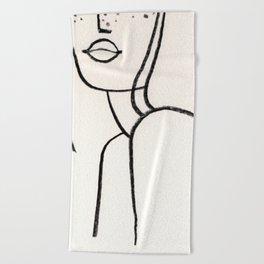 Shoulders Beach Towel