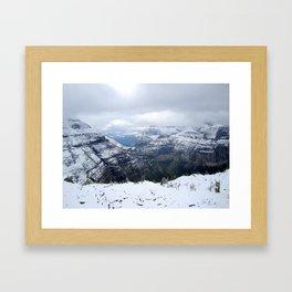 Boulder Pass Framed Art Print