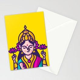Lakshmi - The Goddess of Wealth Stationery Cards