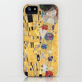 Gustav Klimt The Kiss iPhone Case