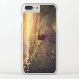 Tuscan love Clear iPhone Case