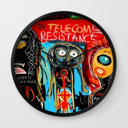 Ex-telecom Wall Clock