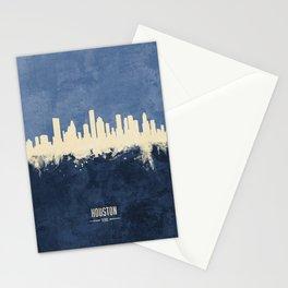 Houston Texas Skyline Stationery Cards