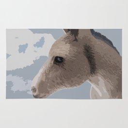 Donkey Face Rug