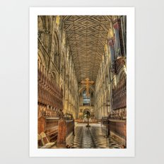 Cathedral Beauty Art Print