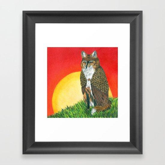 Shape Shifter Framed Art Print