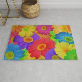 Crazy About Dasies Rug