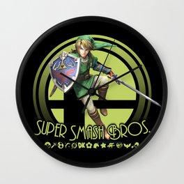 Link - Super Smash Bros. Wall Clock