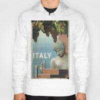 italy Hoodies featuring ITALY by Kathead Tarot/David Rivera