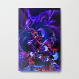 Abstract Flowergarden Metal Print
