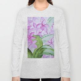 plumeria Long Sleeve T-shirt