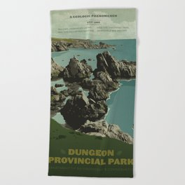 Dungeon Provincial Park Beach Towel