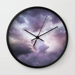 The Skies Are Painted II Wall Clock