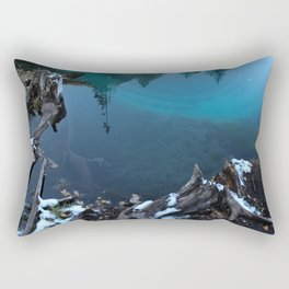 geyser lake Rectangular Pillow