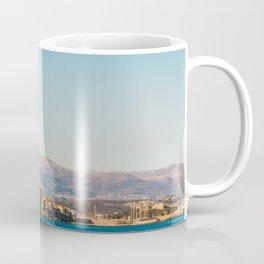 Seacoast of Antibes in a sunny winter day Coffee Mug