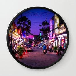 Malaysia Little India Wall Clock