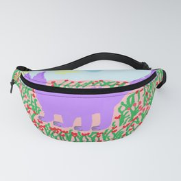 painting for kids-the mauve fox Fanny Pack