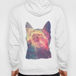 space in cat Hoody