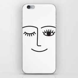 Wink iPhone Skin
