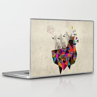 kris tate Laptop & iPad Skins featuring The Night Playground by Peter Striffolino and Kris Tate by Kris Tate