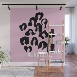 Girls Lilac Wall Mural
