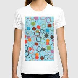 squiggles & circles T-shirt