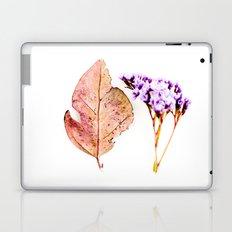Nature Flower and Autumn Leaf Laptop & iPad Skin