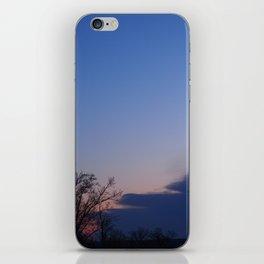 Indigo Sunrise iPhone Skin