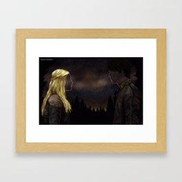 Bellarke - Princess and the King Framed Art Print