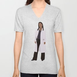 Martha Jones: The Doctor Unisex V-Neck