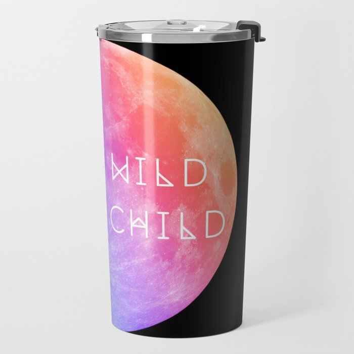 Stay Wild Moon Child v2 Travel Mug