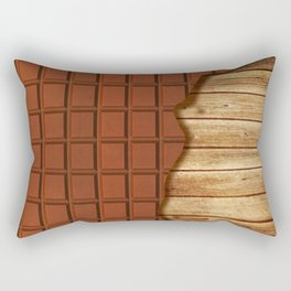 Hunger Rectangular Pillow