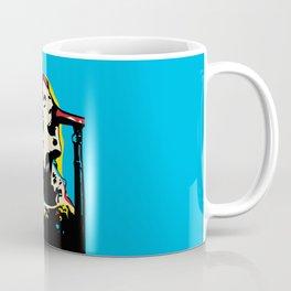 Liam Gallagher Quote Portrait Coffee Mug