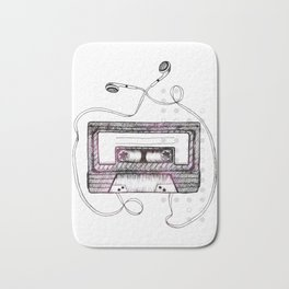Mixtape Bath Mat