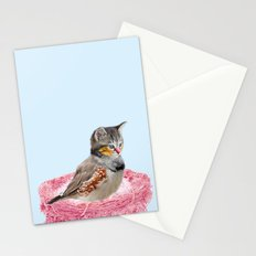 BirdCat?! Stationery Cards