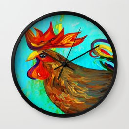Ridiculously Handsome Wall Clock