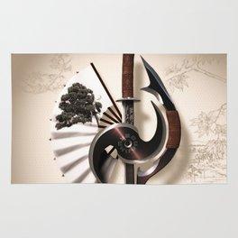 Martial Arts Weapon Rug