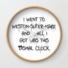 All I Got Was This Dismal Souvenir Wall Clock