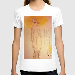 Lucille, The First Human Angel T-shirt