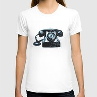 telephone T-shirts featuring Old Telephone by Mr and Mrs Quirynen