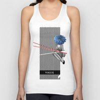 vogue Tank Tops featuring Vogue by Frank Moth