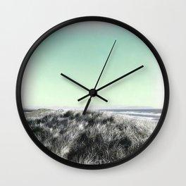 Escape, Oregon coast, sand dunes Wall Clock
