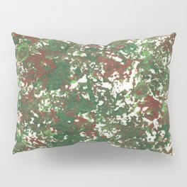 Green & Brown Camo Camouflage Hunting Invisible Military Pillow Sham