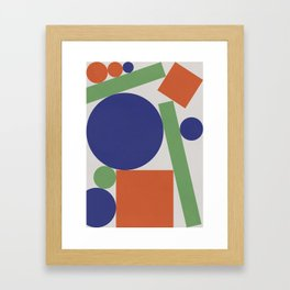 Geometry IV Framed Art Print