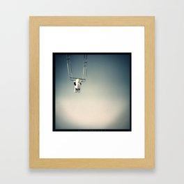 Dangerous Neil Framed Art Print