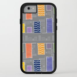 Hanging Abstract Chads iPhone Case