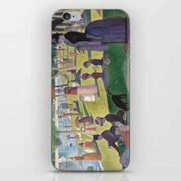 Georges Seurat - A Sunday Afternoon on the Island of La Grande Jatte iPhone Skin