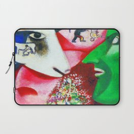 Marc Chagall Me and the Village Laptop Sleeve
