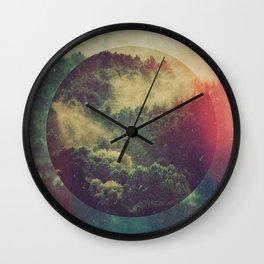 Fractions C02 Wall Clock